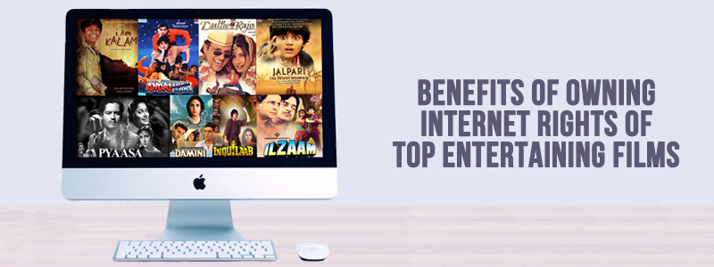 buy internet film rights in India