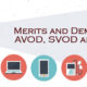 Merits and Demerits of AVOD, SVOD and TVOD
